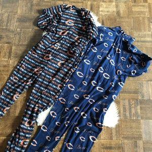 NFL 2 Pairs Pajamas Womens Small Chicago Bears